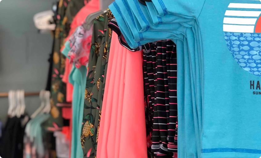 Vêtement boutique